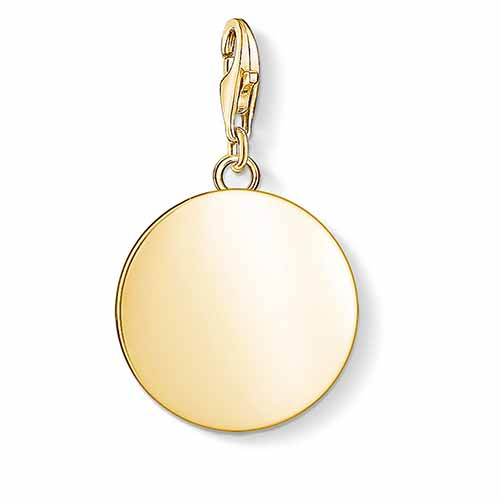 Small Gold Disc