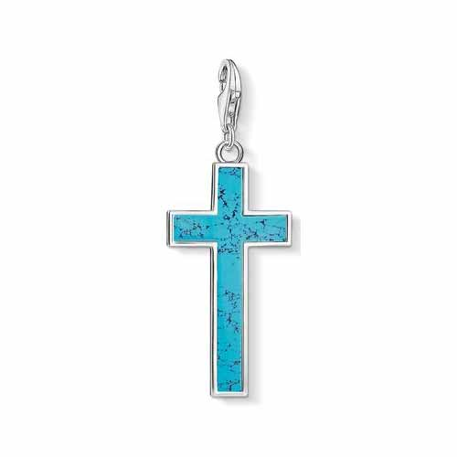 Large Turquoise Cross