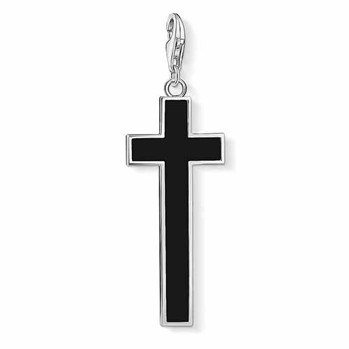 Long Onyx Cross