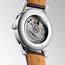 Load image into Gallery viewer, Longines Heritage Gents on Brown Leather - Rocks Jewellers