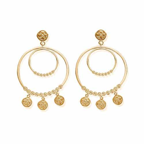 Gold Heavenly Earrings
