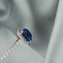 Load image into Gallery viewer, Hailey Sapphire & Diamond Ring - Rocks - Rocks Jewellers