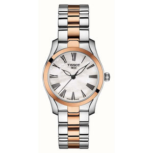 T-Wave Ladies Two Tone Rose Gold