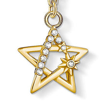 Load image into Gallery viewer, Gold CZ Star Pendant Charm - Thomas Sabo - Rocks Jewellers