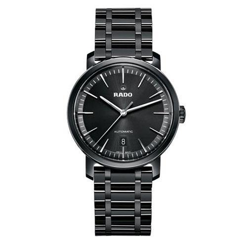 Rado DiaMaster Gents Black Automatic - Rocks Jewellers