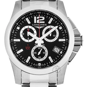 Longines Conquest Gents Chronograph - Rocks Jewellers
