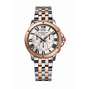 Tango Gents Two Tone Rose Gold Chronograph