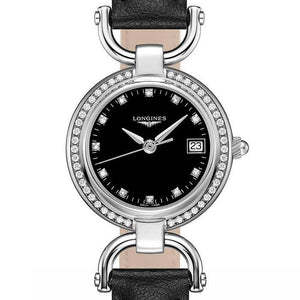 Equestrian Ladies with Diamonds on Black Leather