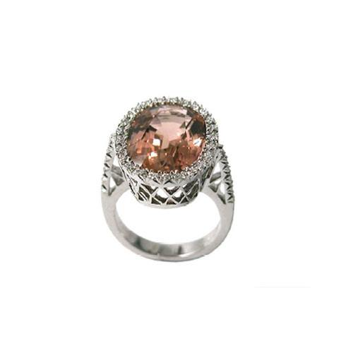 Favero Pink Tourmaline Ring