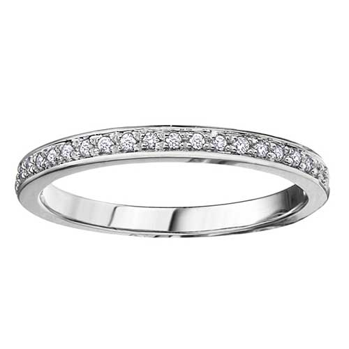 Ladies Diamond Wedding Ring
