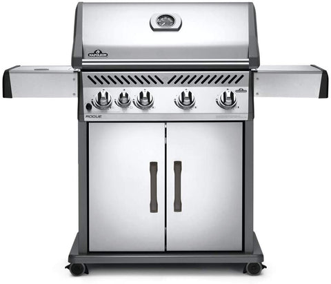 Napoleon Rogue 525 With Side Burner, Stainless