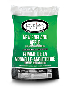 Louisiana Grills New England Apple 40LB Bag Wood Pellets