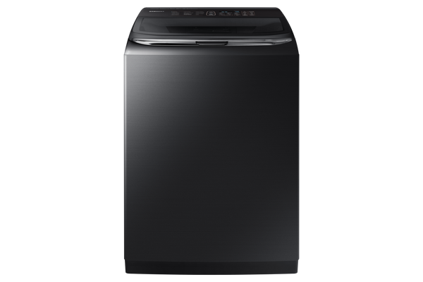Samsung Black Stainless 6.2 CU.FT Top Load Steam Washer