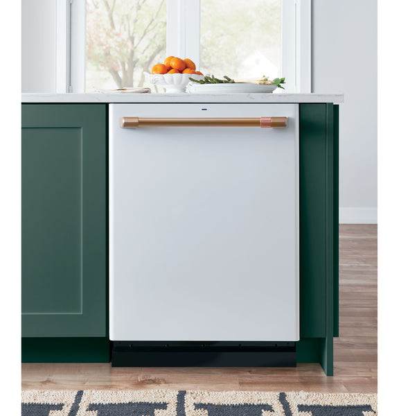 GE Cafe Matte White Dishwasher