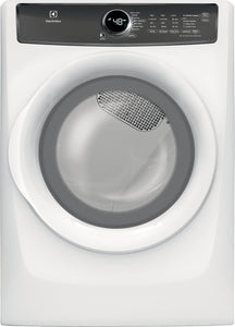 Electrolux White 8 CU.FT Steam Dryer