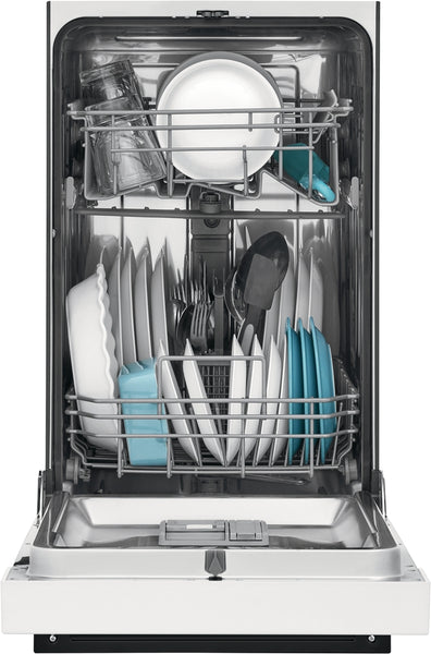 "Frigidaire White 18"" Dishwasher"