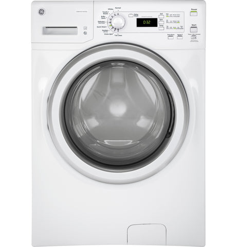 GE White 4.8 CU.FT Front Load Washer