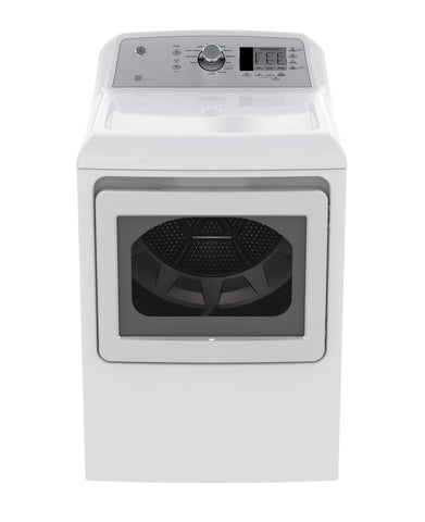GE White 7.4 CU.FT Dryer
