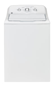 GE White 4.4 CU.FT Top Load Washer