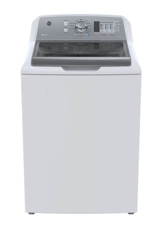 GE White 5.3 CU.FT Top Load Washer