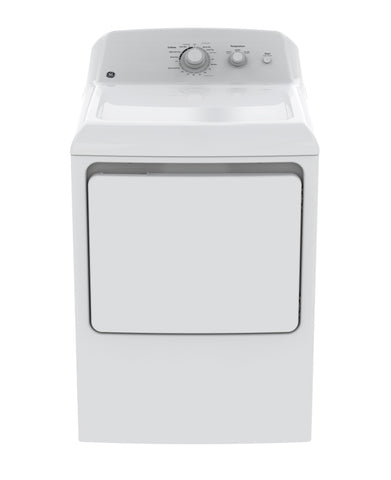 GE White 6.2 CU.FT Dryer