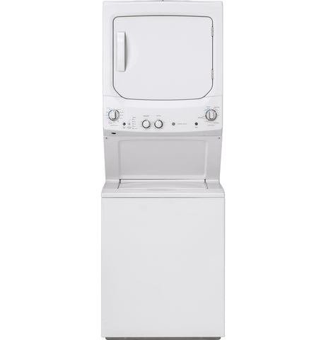 "GE White 24"" Washer/Dryer Laundry Center"