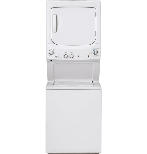 "GE White 27"" Washer/Dryer Laundry Center"