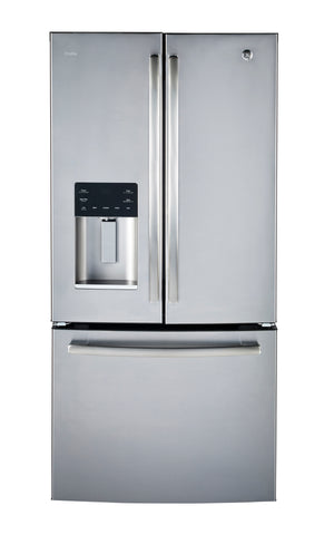 GE Profile Stainless 23.5 CU.FT French Mount Fridge