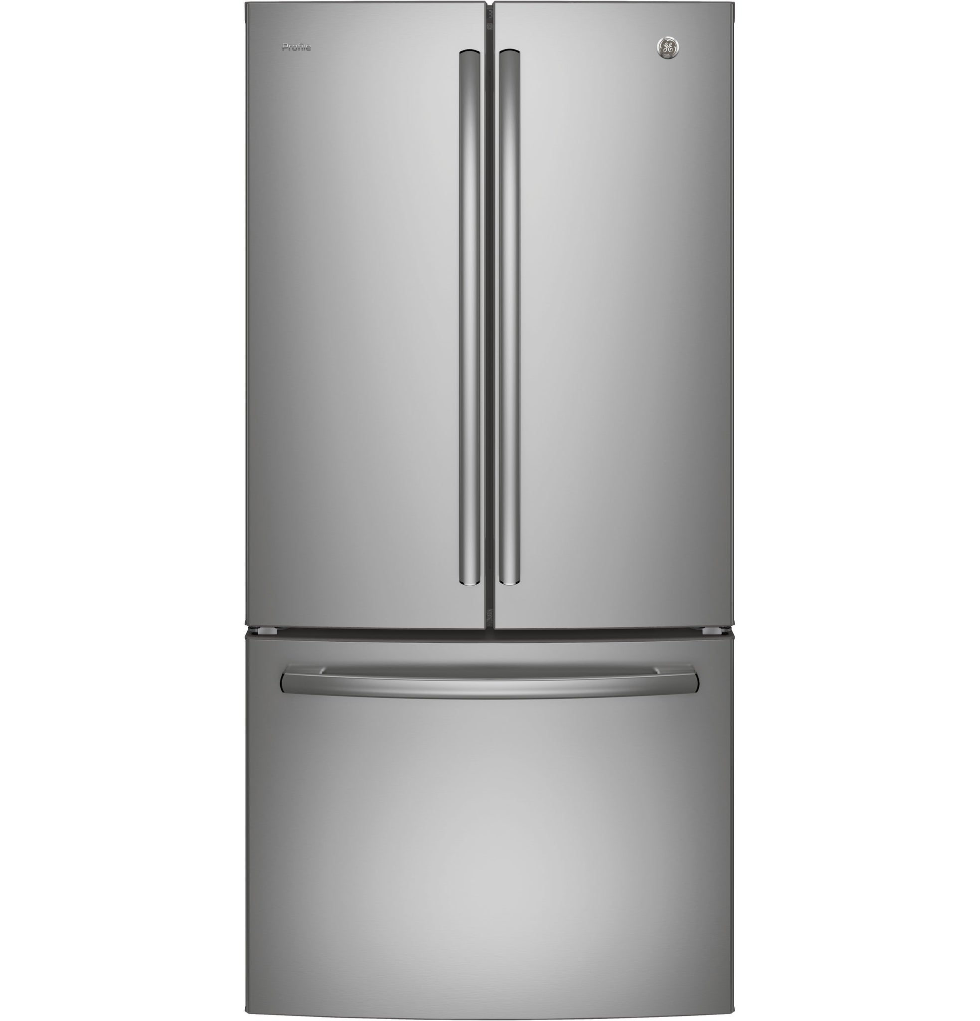 GE Profile Stainless 25 CU.FT Fridge, With Internal Water/Ice