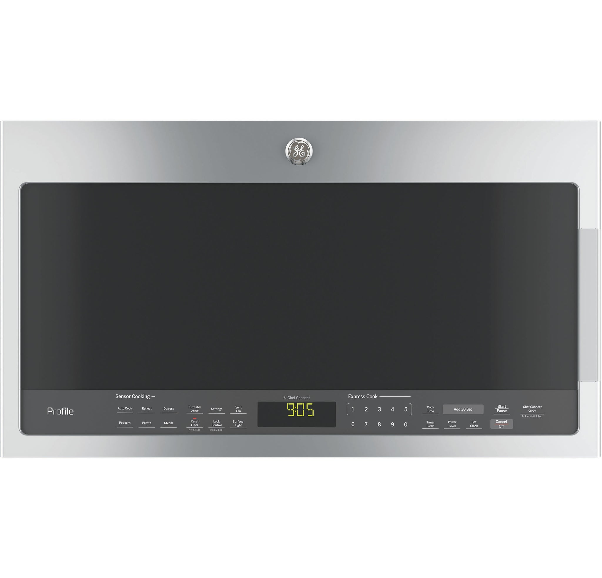 GE Profile Stainless 2.1 CU.FT OTR Microwave
