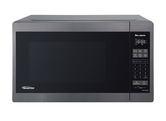 Panasonic Black Stainless 1.3 CU.FT Microwave