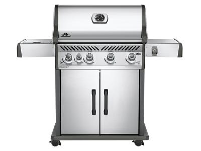 Napoleon Rogue 525 With Infrared Side Burner, Stainless