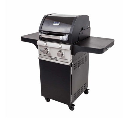 Saber Cast Black 2 Burner Gas Grill