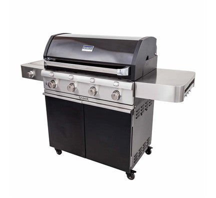 Saber Grills Cast Black 4 Burner Gas Grill