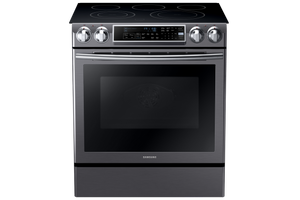 Samsung Black Stainless 5.8 CU.FT Dual Convection Range