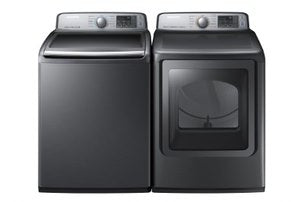 Samsung Platinum 7.4 CU.FT Steam Dryer