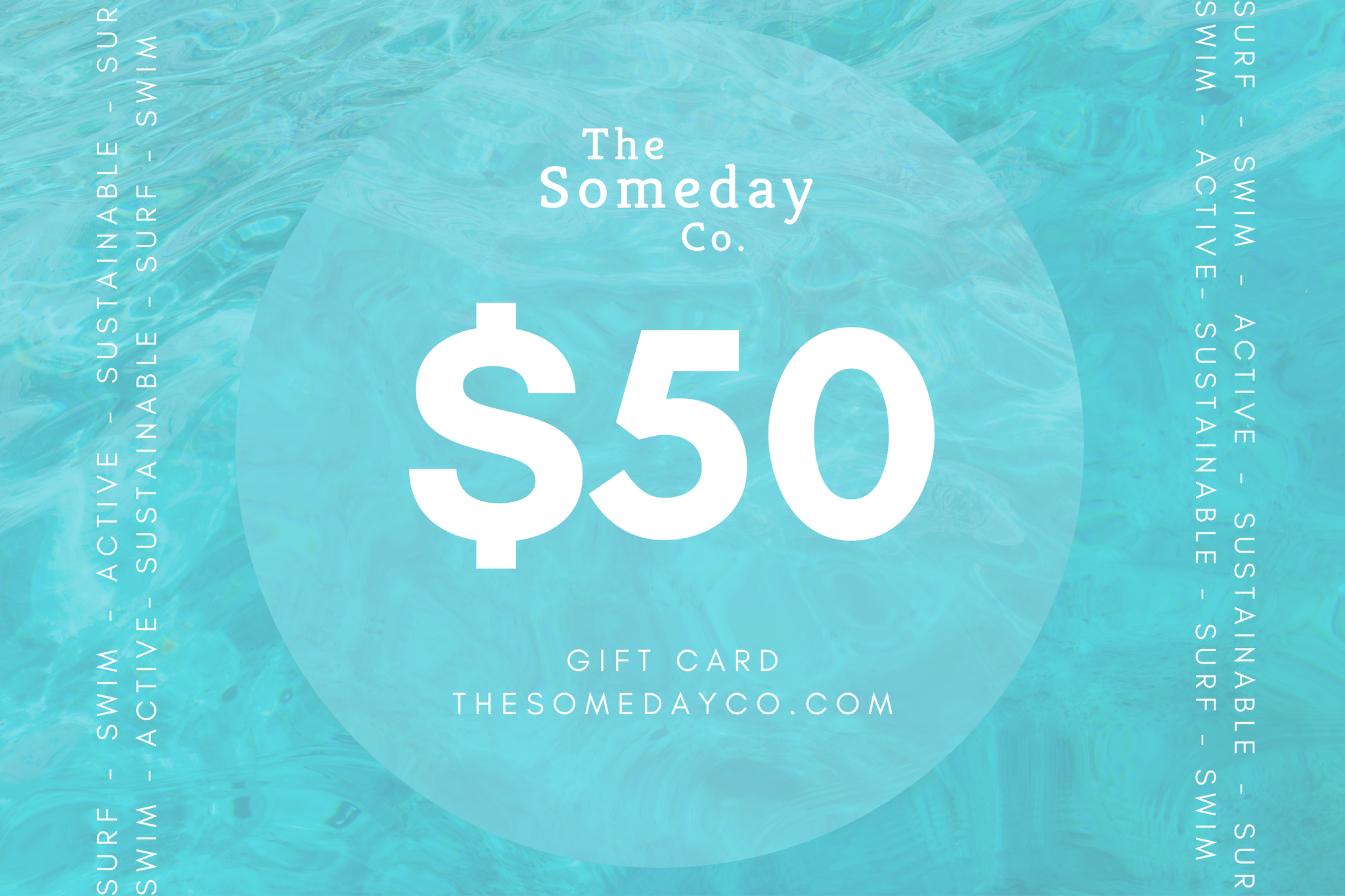 The Perfect Sustainable Gift - a Gift Card from The Someday Co.