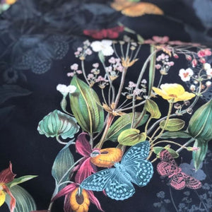 Braunton Short - Endangered Flower in Black