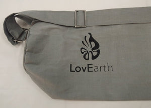 LovEarth Charcoal Yoga Mat with bag. Now Includes Anti-Microbial Polygiene  -Out of Stock - Due in Mid September