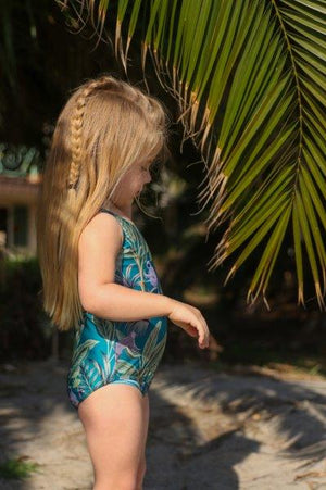 Mia Swimsuit in DEEP JUNGLE