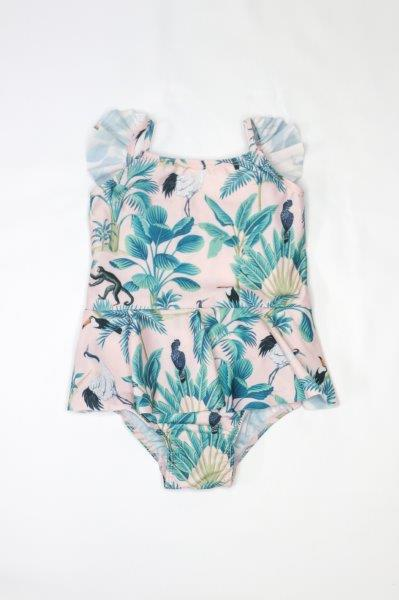 Elle Swimsuit in PINK JUNGLE