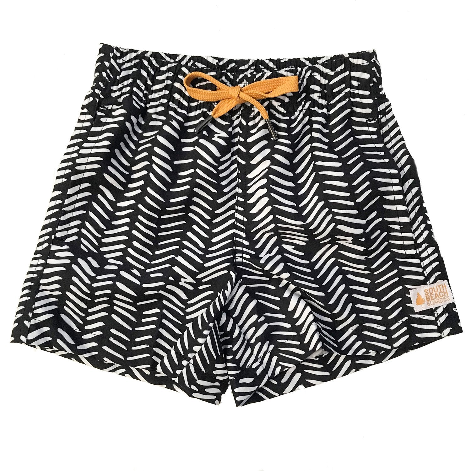 Kids Retro Trunks: Tribal