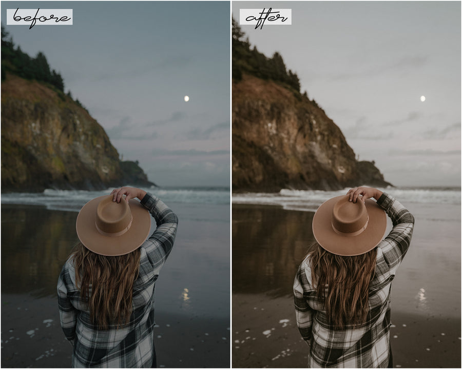 Sweater Weather Desktop Lightroom Presets - Hyggely Presets and Branding