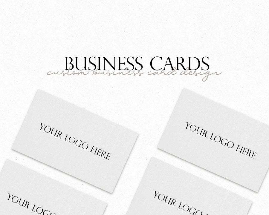 Custom Business Card - Hyggely Presets and Branding