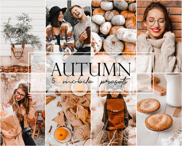 Autumn Mobile Lightroom Presets - Hyggely Presets and Branding
