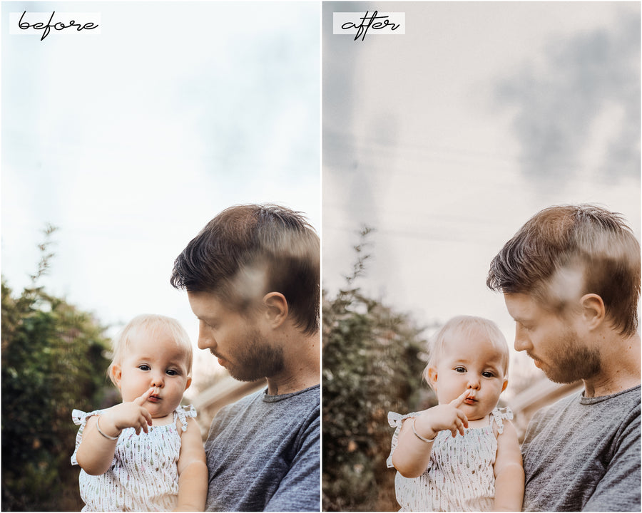 Cozy & Warm Desktop Lightroom Presets - Hyggely Presets and Branding