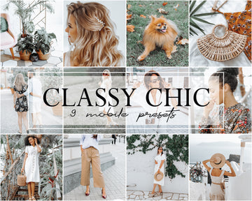 Classy Chic Mobile Lightroom Presets - Hyggely Presets and Branding