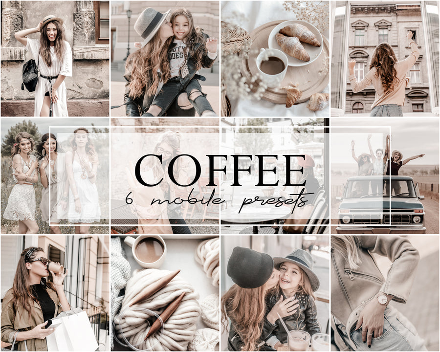 Coffee Mobile Lightroom Presets - Hyggely Presets and Branding