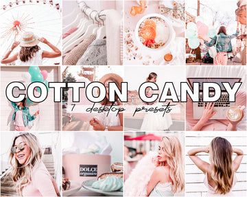 Cotton Candy Desktop Lightroom Presets - Hyggely Presets and Branding