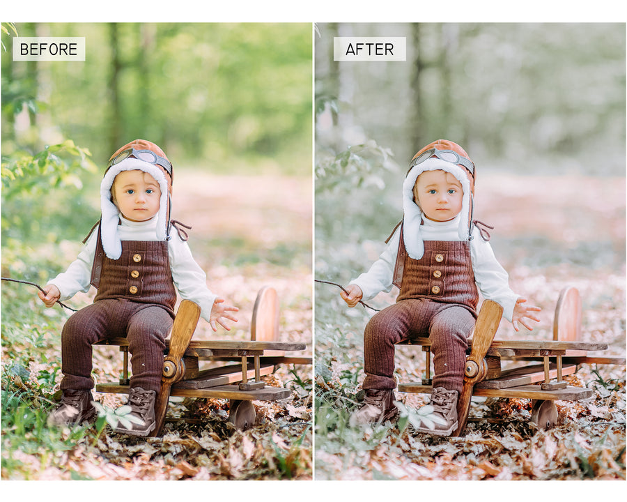 Clean Tones Mobile Lightroom Presets - Hyggely Presets and Branding